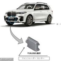 【リコール】BMW「320d xDrive他」計56車種のフロントレーダーセンサーに不具合