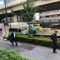 快晴の東京です
