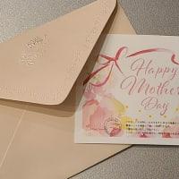 はくば整骨院、母の日施術ギフトカードお作りしております