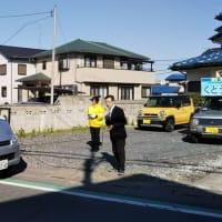 選挙二日目。駅立ちしました。午後は三宮市長候補と東間・宮内・深井方面街宣。