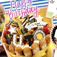 バースデーケーキ♡オーダー ~21歳☆バンドケーキ~