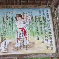 小國神社(4)神幸所~大杉