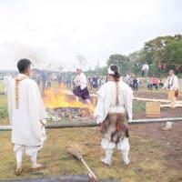 小田の火祭り大護摩法要を開催。