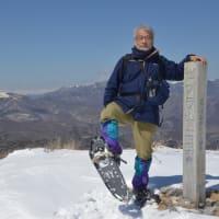 霧ヶ峰スノーシューで5時間の登り下りを楽しむ。