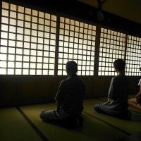 永明寺で坐禅会が開催されました