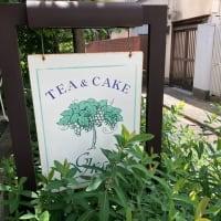 西荻窪ランチ 『Tea&Cake Grace』・・・木洩れ日。