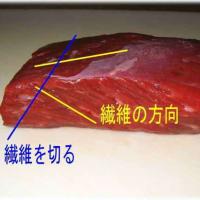 ブロック肉の切り方