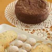 ガトーショコラとクッキーのレッスン