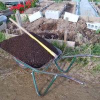 土壌の改良。