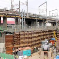 百反歩道橋架替工事の進捗 その34