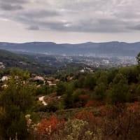 La TreilleからAllauchの丘へ