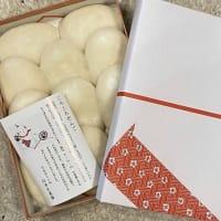 金沢の風習・・・安産を願う「ころころ餅」・・・先週の戌の日に、長女の嫁ぎ先に送りました。これも実家のお仕事です。