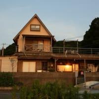 夕陽を愉しむ家