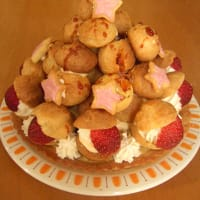 クリスマスケーキ*クロカンブッシュ