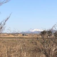 駒ヶ岳の尾根付近の雪がなくなり