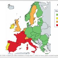 食事は新型コロナウイルス(COVID-19)の国と国または国内の地域による死亡率の差に影響しているか?
