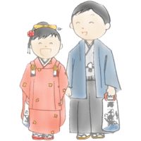 冠嶽神社・令和元年(2019年)七五三のお子様