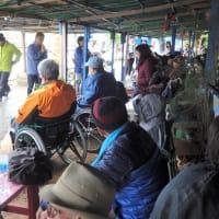 12月7日(土) 冷たい雨の中、「辺野古大行動」と「障がい者の集い」 // 今のペースでは、土砂投入に60年もかかる!