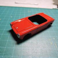 NEKO FACTORY HONDA S360 プロトタイプ 1962 ボディ塗り分け