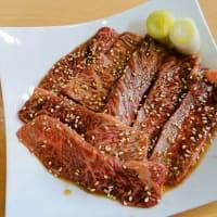 塩ホルモン 好ちゃん(富士見)の「豆もやしのナムル」「好ちゃん ホルモン盛り」「薄切りレバー」「A5和牛カルビ」「A5和牛カルビ」等