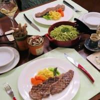 ファミレスランチ&黒毛和牛のステーキ