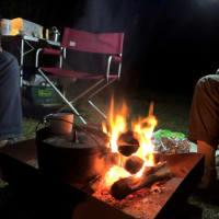 焚火キャンプ!