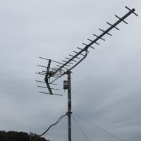 千葉県:鎌ヶ谷市道野辺にて、倒壊アンテナ復旧工事
