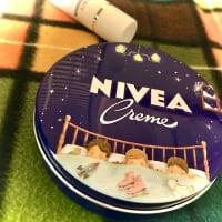 * 新しいニベアクリームの柄缶♬ *