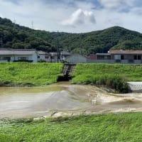 全国を襲う集中豪雨、福山にも相当雨は降った、九州や長野・岐阜に比べられないけど