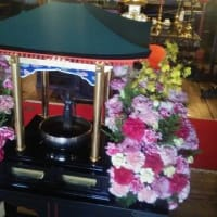 新型コロナウィルスの終息を祈願・・・護国寺の花まつり