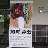 安来市加納美術館 画家加納莞蕾 大回顧展での対話型鑑賞会の様子②をお届けします(2019,4,28開催)
