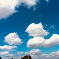 ぷかぷか雲と青空・散歩 (⋈◍>◡<◍)。✧♡