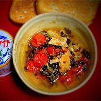 "vol.95 春休みシリーズ 鮭缶で作る""南仏式モナコ煮"""