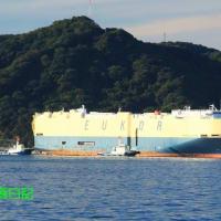 自動車運搬船「モーニング クレア」