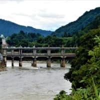 2019・7・20 長野の素敵な建造物 信濃川水系千曲川・西大滝ダム
