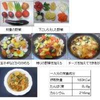 1216 夏野菜のチーズ煮込み