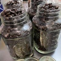 コストコのコーヒーを保管する容器、コストコのこの瓶がちょうどいい