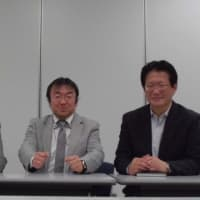◆2015年4月25日(土)、dSPACE社日本法人の前社長の有馬仁志さんと、ビジネスについて語り合いました!