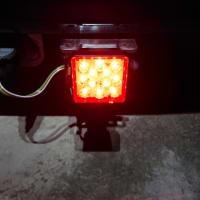 LEDヒッチカバーつけてみました!