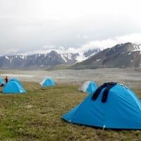 西モンゴルの旅 6 トレッキング1日目