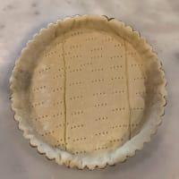 アーモンドクリームのアップルパイ
