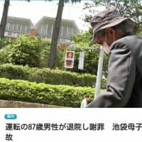 飯塚幸三、任意聴取のニュース映像で、マトモに歩けない、これで運転した。なぜタクシーを使わなかった、東京だよ。いまだに車プリウスの異常だと言い張る。事故現場にレイプもみ消しの安倍官邸の官僚が二人いた。