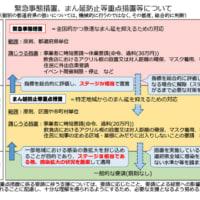 コロナ。「内閣官房」HPの「まん延防止等重点措置」の説明文。。 岡山県内に、「まん延防止等重点措置」適用 正式決定。期間は、今月20日から来月12日まで。