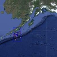20日05時55分ころアリューシャン列島付近で大きな地震発生.