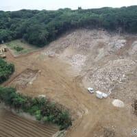 辺野古への土砂搬出が噂される魂魄の塔近くの土砂採取地 --- 自然公園法違反のため、県から中止命令が出ていた!