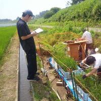 福島県浪江町での試験
