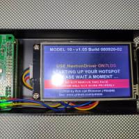 Pi-Starの箱をNextionモニター組み込み用に取り換えました。