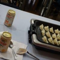 父の日行事「オヤジの会」! 餃子とビールで父の日を祝う!の巻