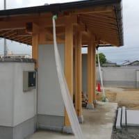 (仮称)おおらかに暮らしを包み込む数寄屋の家新築工事・建物本体から繋がる庭と風景のバランス、控えめな姿勢とバランス和風建築の設計デザイン感度