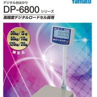 高精度デジタル台はかり DP-6800シリーズ